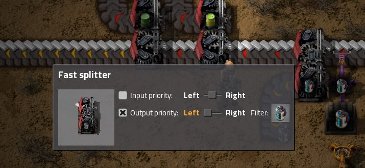 Power priority factorio